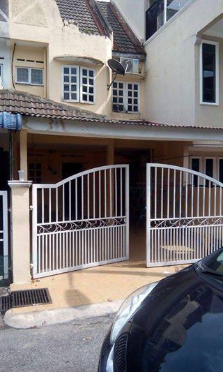 Double Storey Terrace, Taman Kosas Ampang