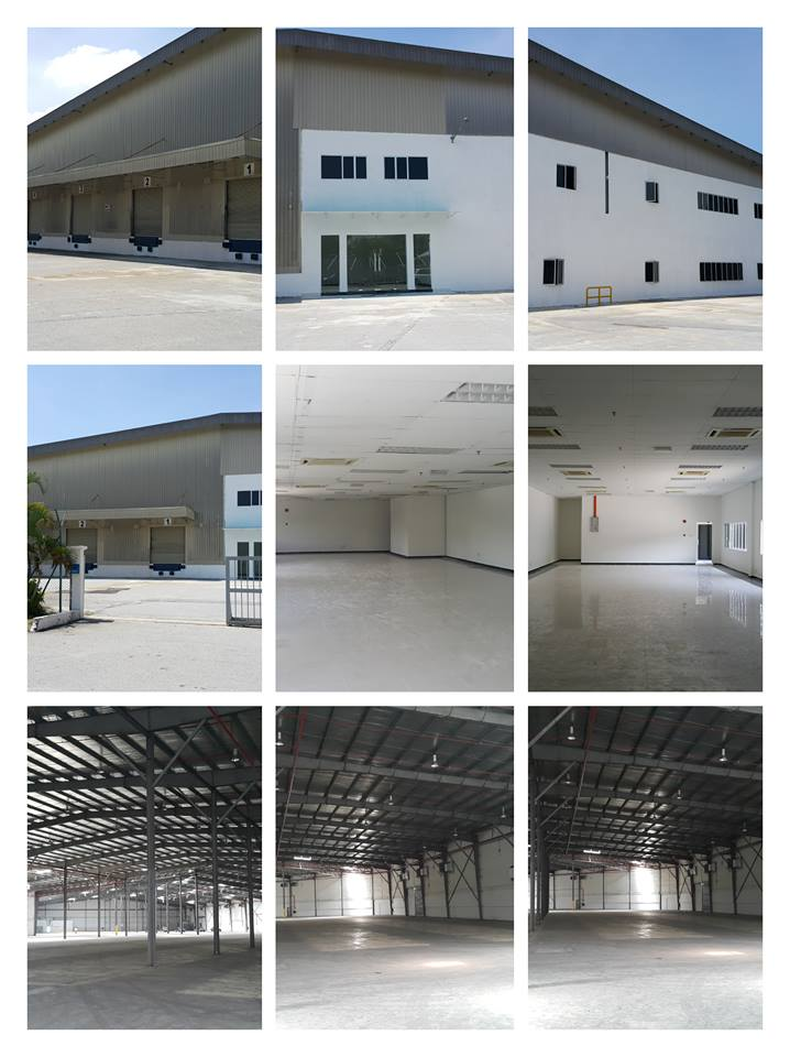 Factory Cum Warehouse and Office Building For Rent!