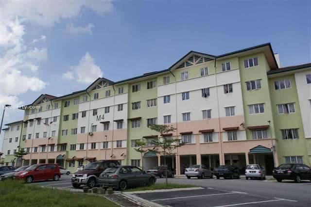 Apartment Sri Bintang, Subang Bestari U5 Shah Alam, Selangor FOR SALE!