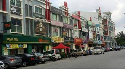 3Sty ShopLot Office Alam Avenue 2 Seksyen 16 Padang Jawa Shah Alam For Sale!