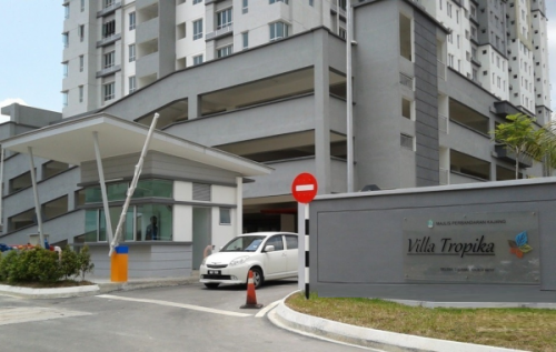 Green Villa Apartment Sungai Tangkas Kajang