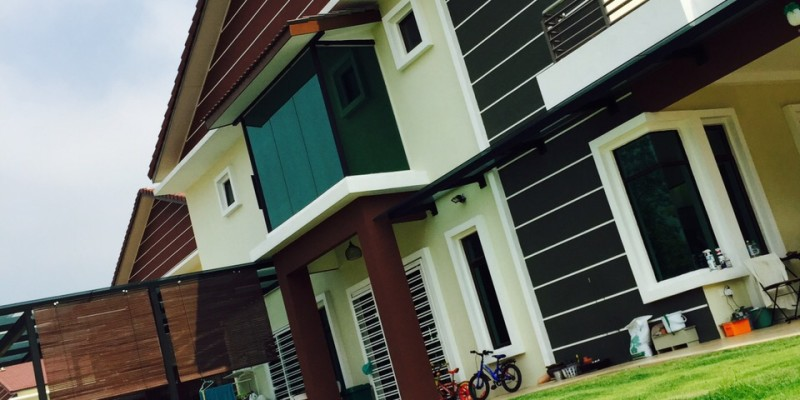 2 Storey Terrace Corner Zeta Park Taman Bukit Citra Mantin