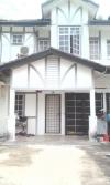 Rumah Teres 2 Tingkat Shah Alam Jalan Cakera Purnama Bandar Puncak Alam untuk dijual