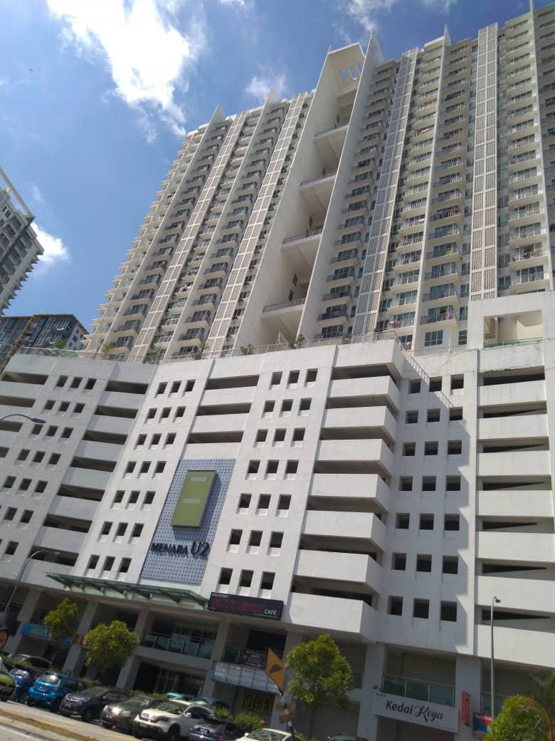 Unit Servis Apartment di Menara U2, Shah Alam