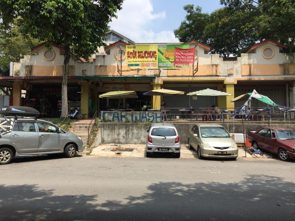 Kedai Teres 1 Tingkat di Jalan Cecawi, Kota Damansara untuk dijual