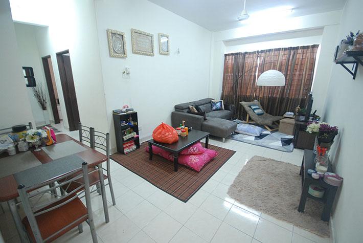 (LEVEL GROUND FLOOR, TERMURAH) Pangsapuri Seri Kejora, Subang Bestari