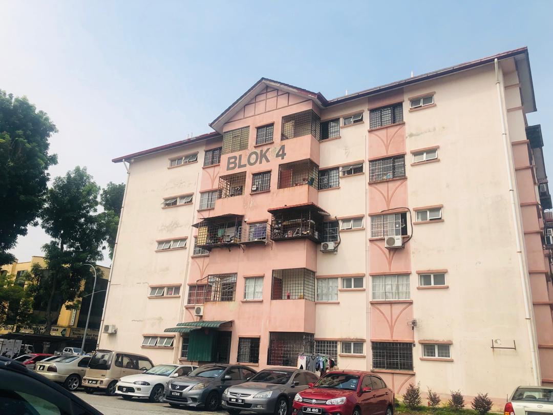 [GROUND FLOOR] Rumah Apartment Jasmin, Subang Bestari untuk dijual.