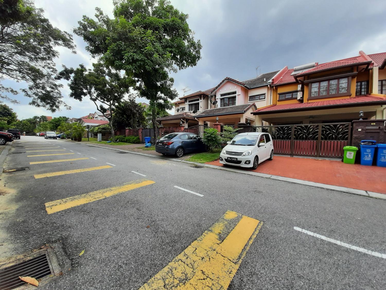 Double Storey Terrace, Jalan Adang, Bukit Jelutong
