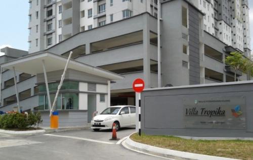 Shop lot Green Villa Apartment Sungai Tangkas Kajang Near KTM UKM Bangi